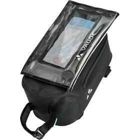 VAUDE Carbo Guide Sacoche De Cadre Avec Protection Détachable Pour Smartphone, black